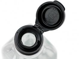 ヒンジ丸穴・黒CAP