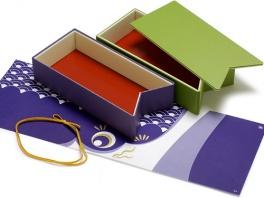 折箱、掛紙、ゴムのセットです