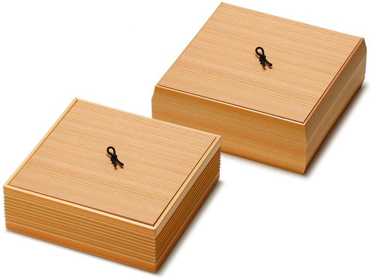 ツマミが新しくなった新タイプのユニ折箱 正倉院とユニ折箱 西陣