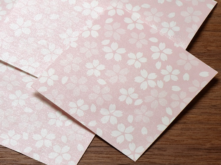 花小紋敷紙 さくら