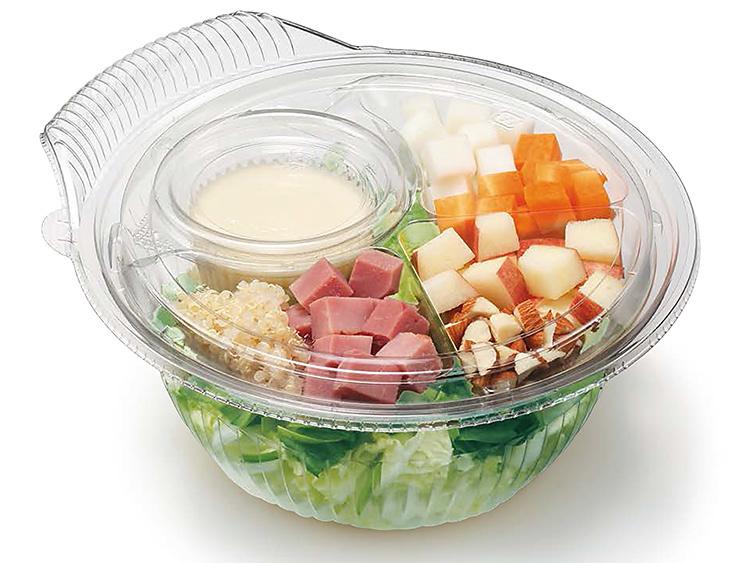 クリーンフォーユーをサラダに使用した例