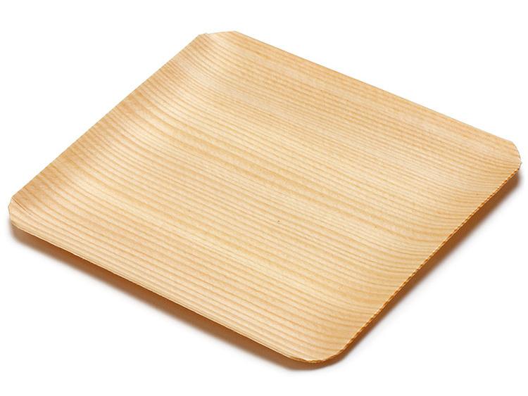 00-11306-160 木製菓子皿 3.5寸 ※天然素材のため、木目・色味などが写真と大きく異なる場合があります。