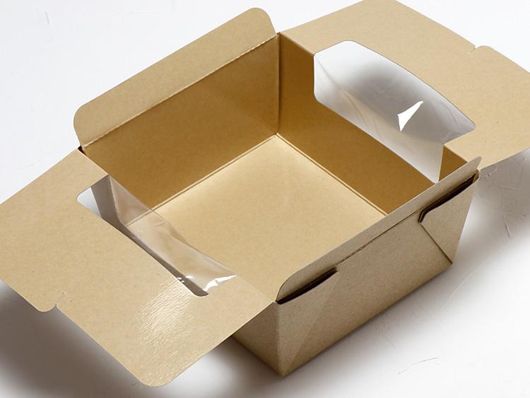 サラダボックスの蓋を開けた状態写真