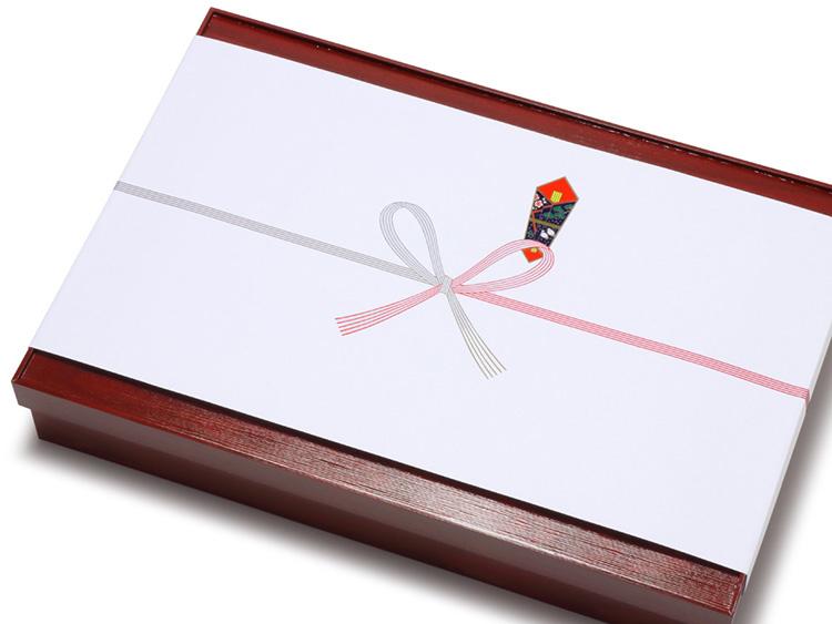 参考商品:00-15103-154 紙製折箱 箱膳 赤漆6ヶ仕切 特大、00-15305-132 のし紙 祝 横長中