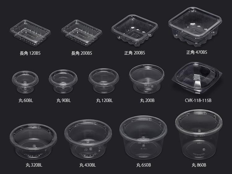 クリーンカップのサイズ一覧画像