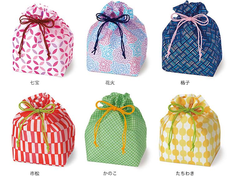 不織布巾着袋のシリーズ一覧画像