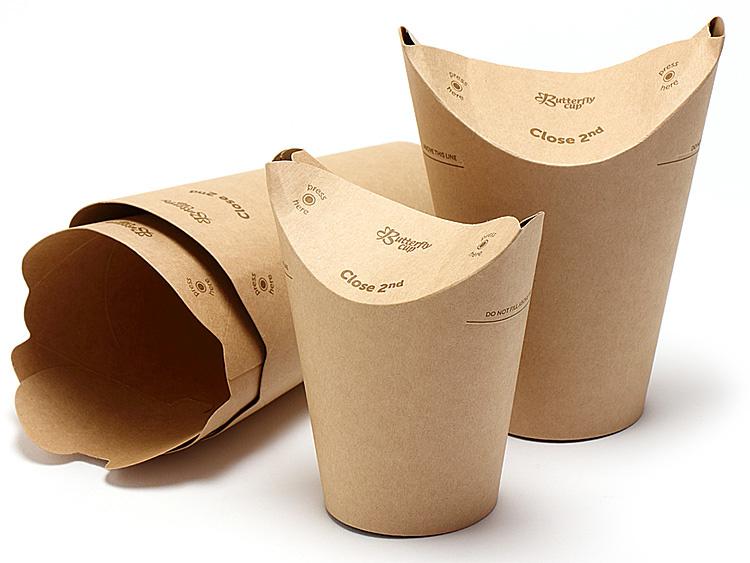 バタフライカップ シングル(未晒)のイメージ画像