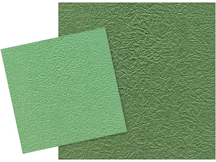 カット和紙 ふくい鳥の子もみ紙 濃い浅葱とカット和紙 ふくい鳥の子もみ紙 濃い緑