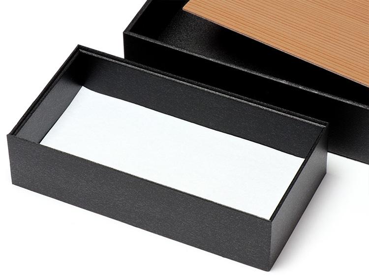 墨香 長型二段 小に吸水マット6.5寸1/2を使用した画像