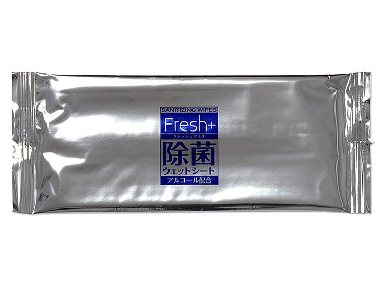 00-15404-182 おしぼり(不織布)Fresh+除菌ウェットシートJO-2の画像