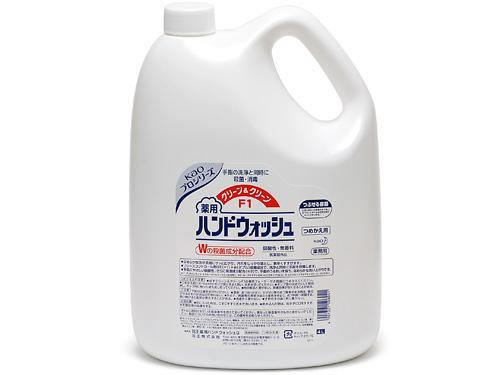 薬用ハンドウォッシュ クリーン&クリーンF1 4Lボトルの商品画像