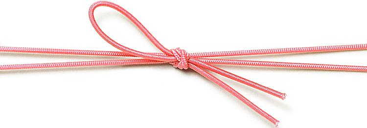 00-17403-342 彩宝ゴム 二重巻松葉結び うすべに8cmの画像