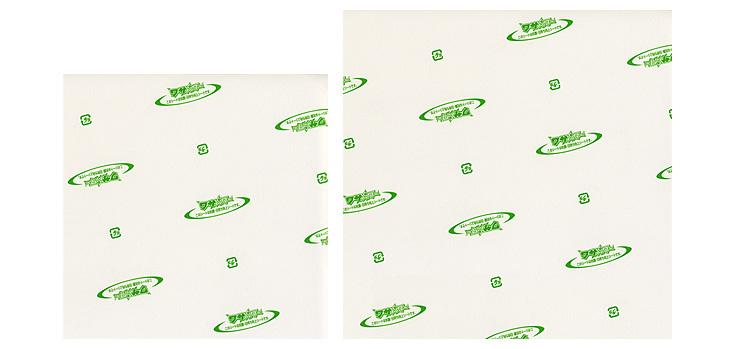 ワサパワーシート正角2サイズの比較画像