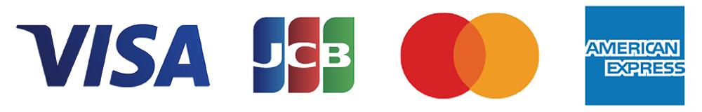 VISA・MasterCard・JCB・AMEX